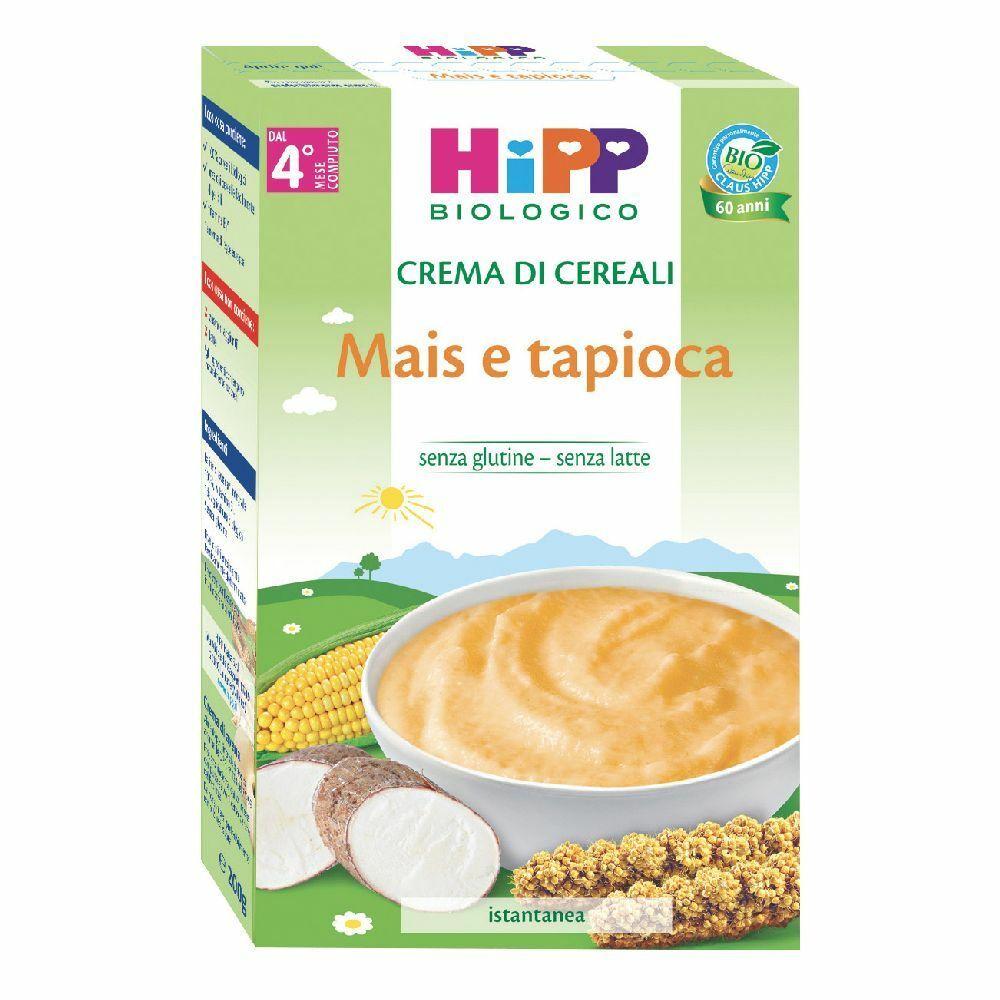 HiPP Crema di Cereali Mais e Tapioca