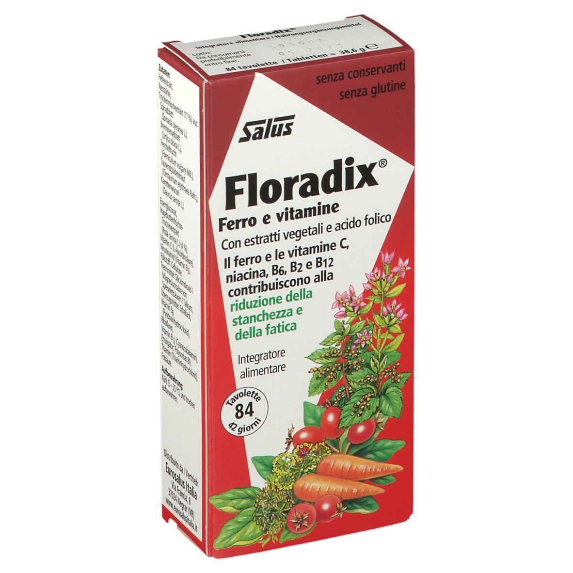 salus floradix tavolette