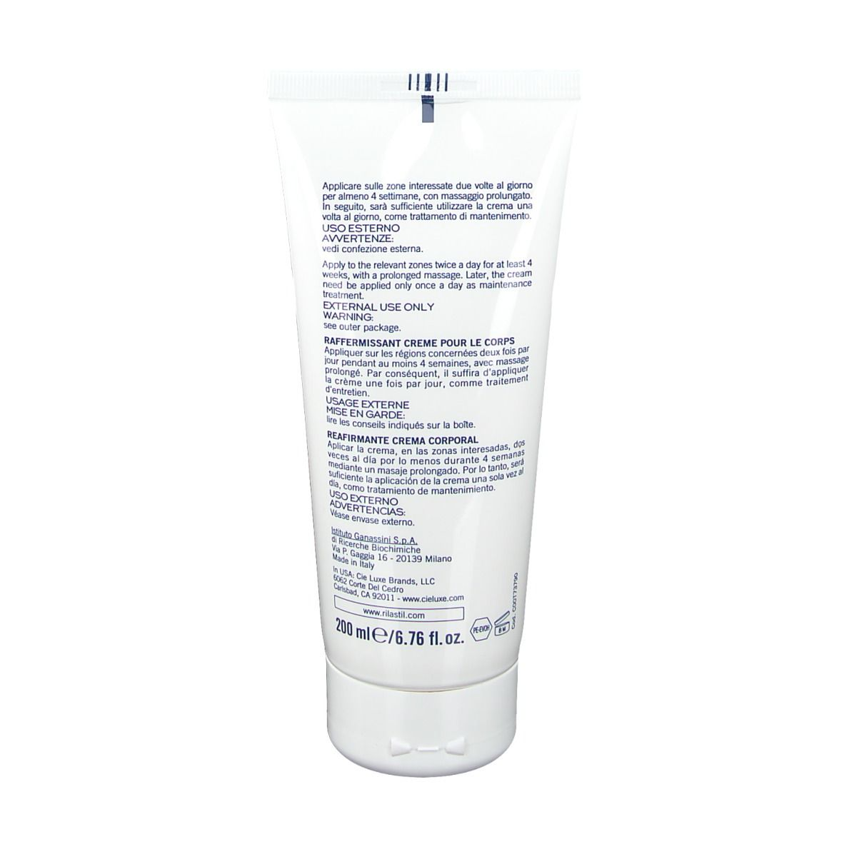 Rilastil® Rassodante Crema Corpo - shop-farmacia.it