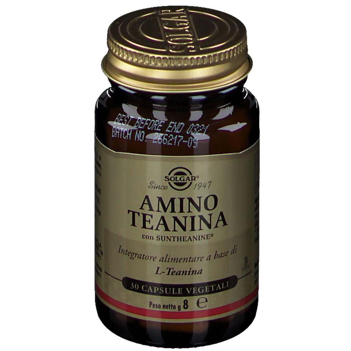 SOLGAR® Amino Teanina