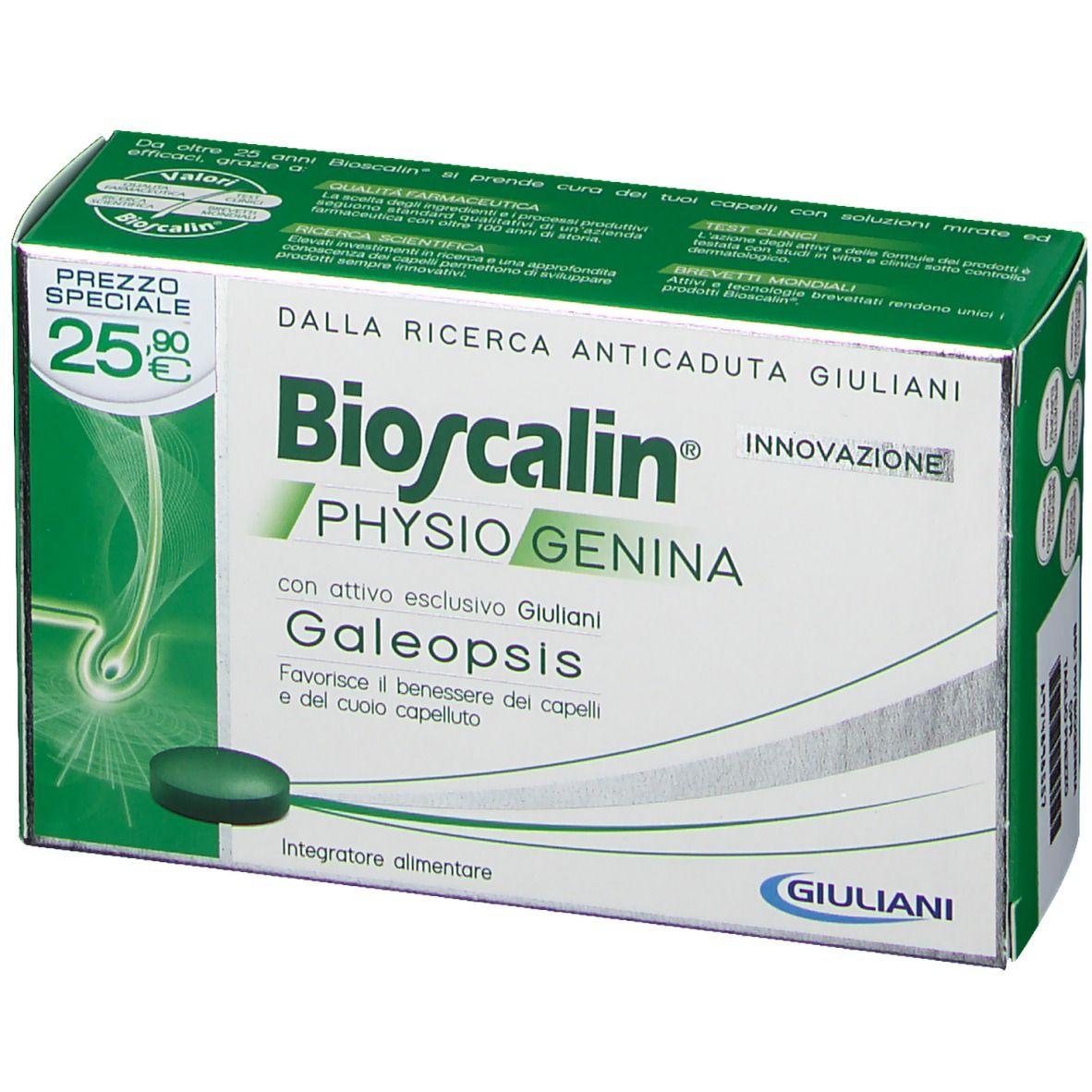 Bioscalin® Physiogenina Compresse Uomo e Donna - shop ...