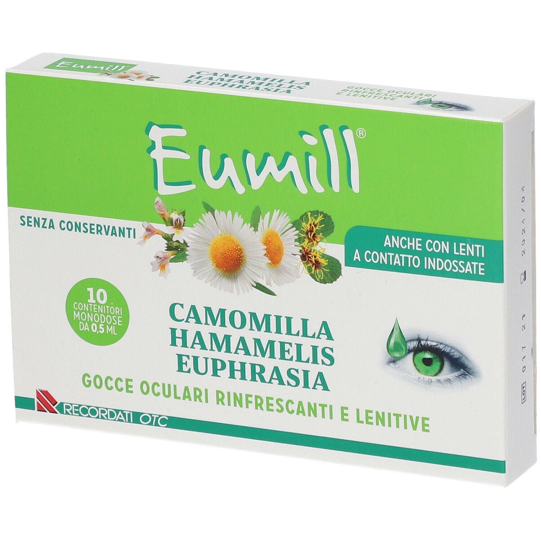 Eumill Camomilla Hamamelis Euphrasia 10x0 5 Ml Shop Farmacia It