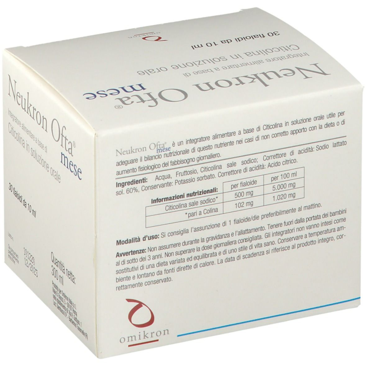 Neukron Ofta Mese 30x10 Ml Shop Farmacia It