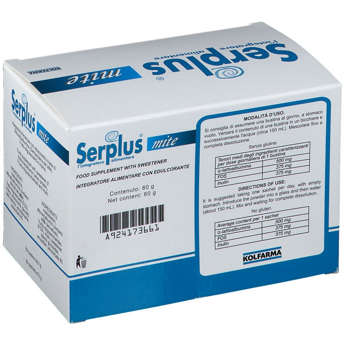 Serplus Mite Bustine 30 Pz Shop Farmacia It