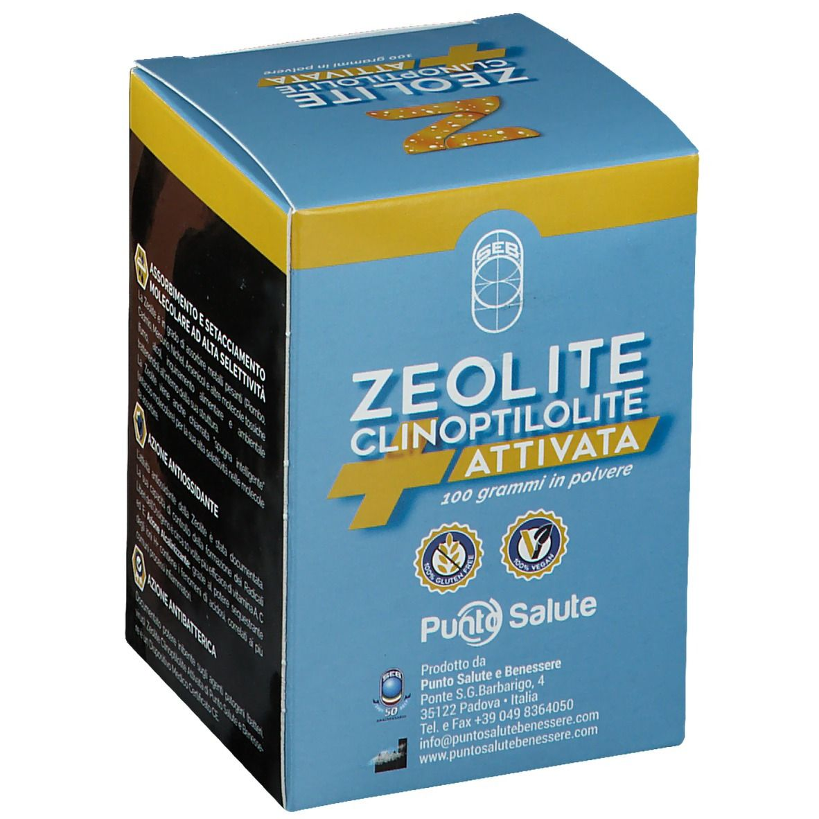 Zeolite Clinoptilolite Attivata 100 G 100 G Shop Farmacia It