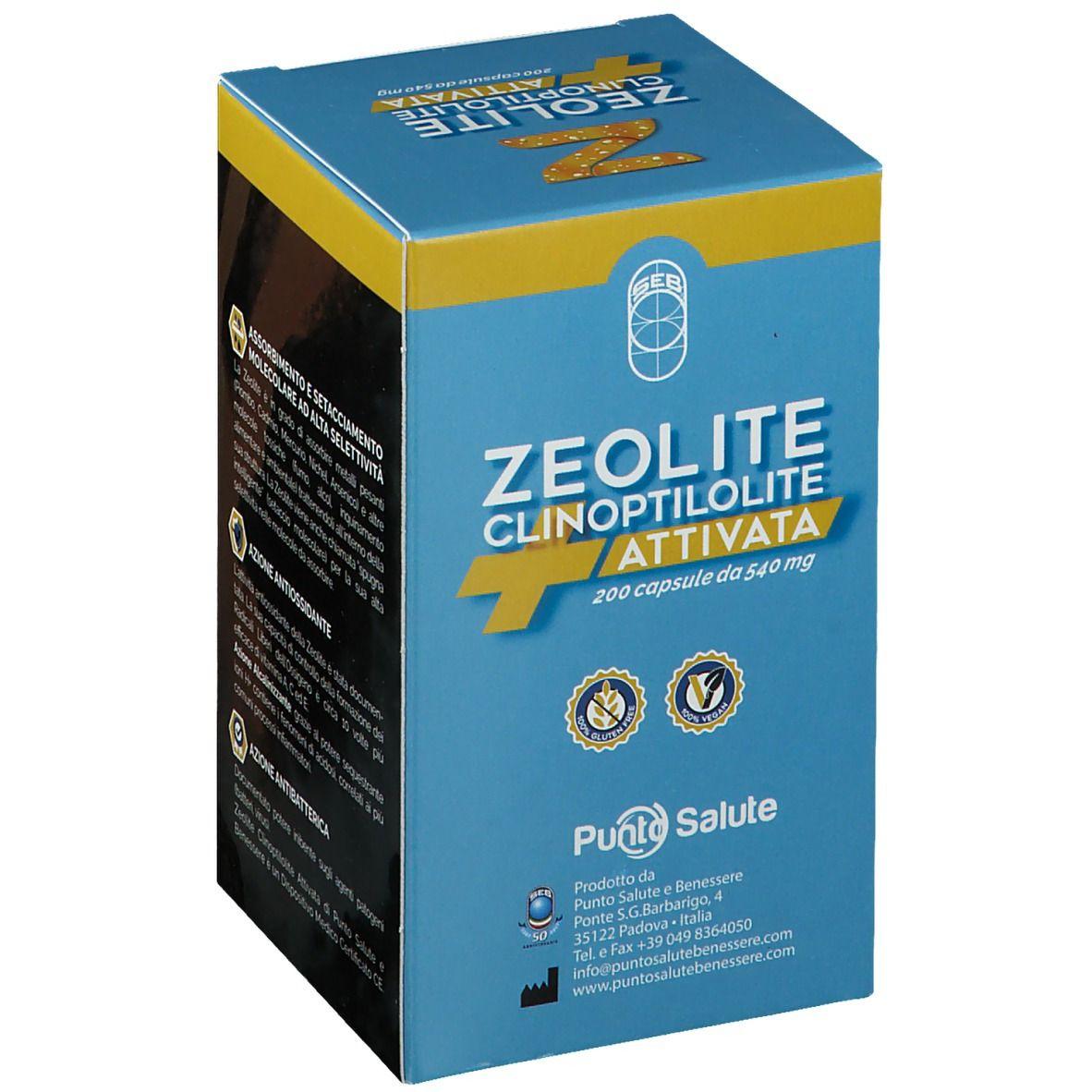 Zeolite Clinoptilolite Attivata 200 Capsule Da 540 Mg 108 G Shop Farmacia It